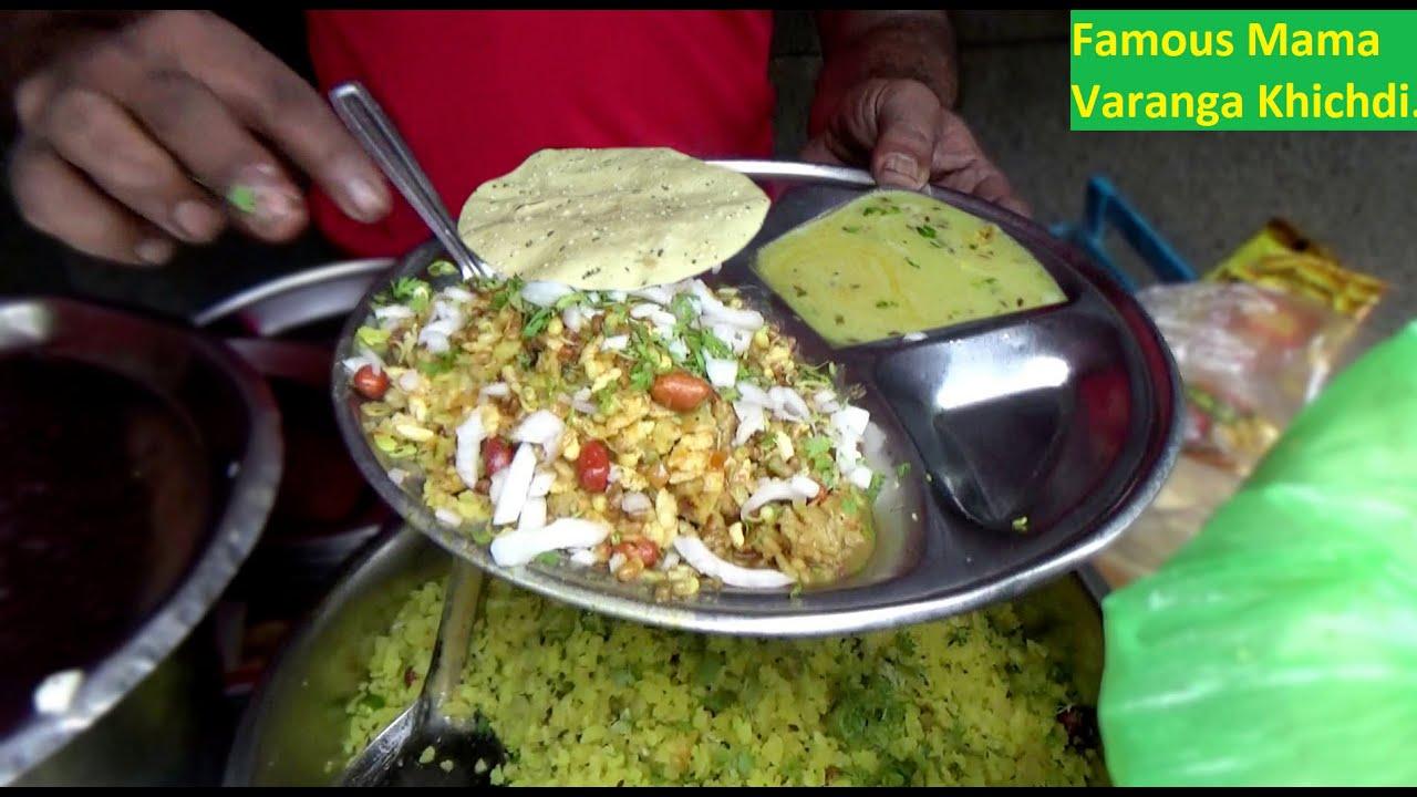 Famous Varanga Khichdi Wala of Yavatmal Maharashtra   Only 20 Rs Per Plate   Indian Street Food