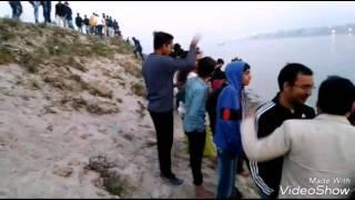 14/01/2017 को पटना में ऐसे डूबी नाव