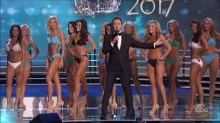 Miss America 2017 Swimsuit Competition - Top 15 Finalists HD