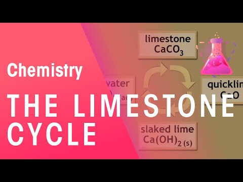 What is the Limestone cycle? | The Chemistry Journey | The Fuse School