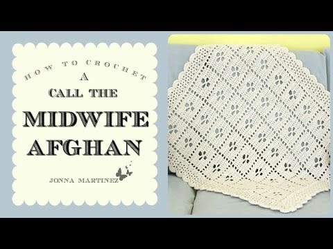 Call The Midwife inspired Afghan