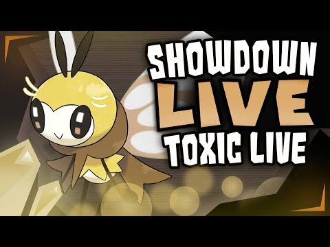 TOXIC TO THE TOP EPISODE 1:WE MIGHT GET BANNED SOON - Pokemon Ultra Sun and Ultra Moon Showdown Live