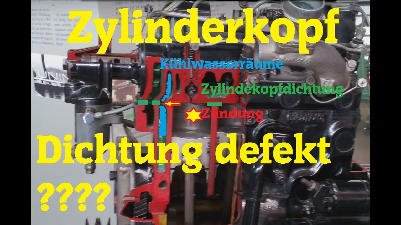 Zylinderkopfdichtung Defekt Head Gasket Blown Pr 252 Fen Doovi