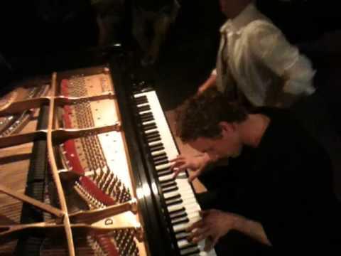 Justin Levitt & David Glass 2010 Improv Piano Concert, Part I