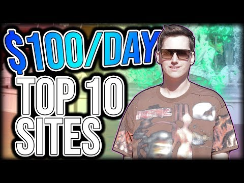 10 Websites You Can Make $100 A Day In PASSIVE INCOME