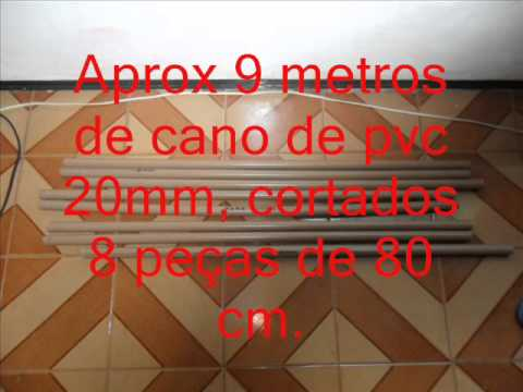 Sapateira de cano PVC - YouTube