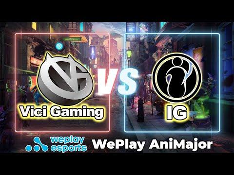 [ DOTA 2 LIVE ] WePlay AniMajor | IG VS VG English Cast