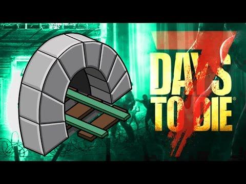 UNDERGROUND RAILROAD ★ 7 Days to Die - Alpha 15 (46)