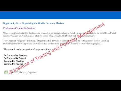 FOREX Market Foundation 1 = Opportunity Set - Sample Video 2