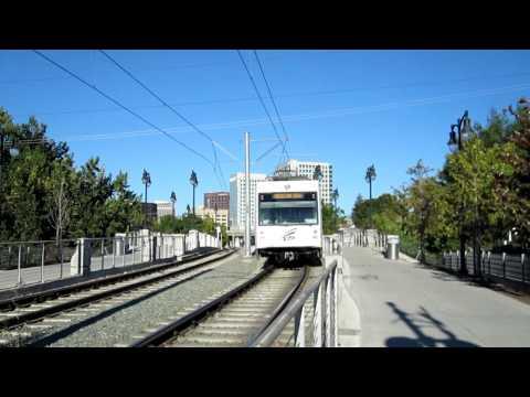 VTA Northbound  Winchester - Mt. View LRV @ San Fernando Station
