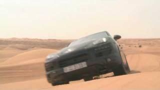 2011 Porsche Cayenne Desert Testing