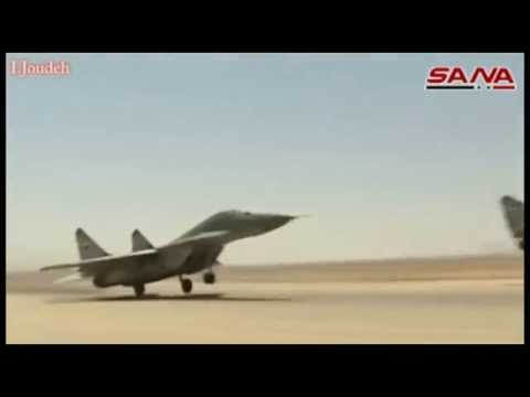 syrian arab air force mig29 compilation video youtube
