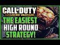 Advanced Warfare Exo Zombies - EASY HIGH ROUND STRATEGY! (Livestream)