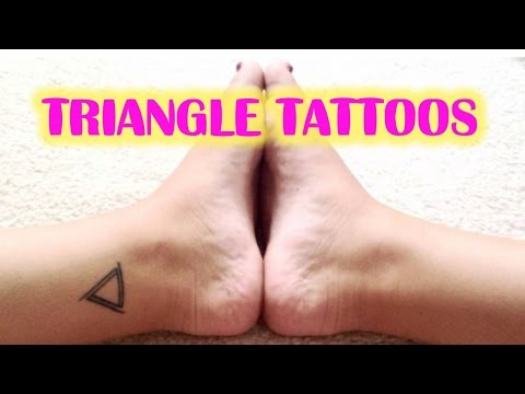 Cool and Modern Triangle Tattoos