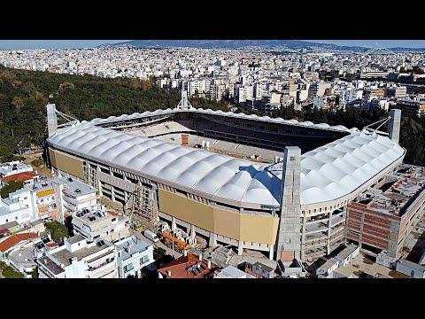 "The new stadium of AEK F.C ""Agia Sofia"" (Under Construction) - 10/02/2021"