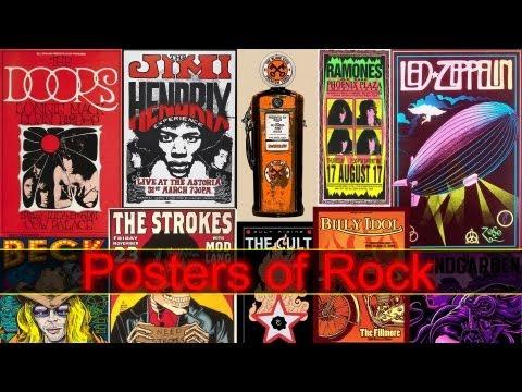 Posters of Rock - Afiches de Rock