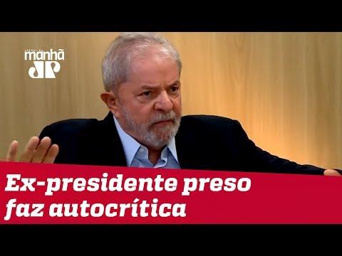 Lula lamenta não ter sido mais incisivo com Dilma