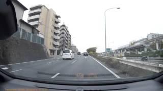 【ドライブレコーダー】青バイに捕まるアクアとパトカーに捕まる小マジェ 青バイ 検索動画 23