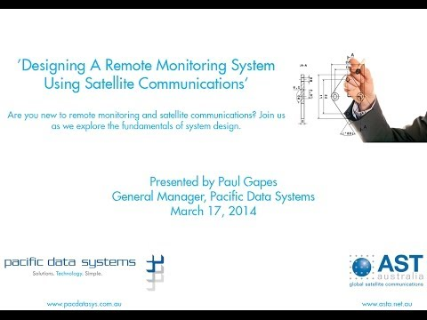 Designing A Remote Monitoring System Using Satellite Communications