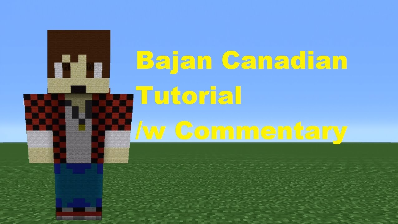 minecraft bajan canadian coloring pages - photo#28