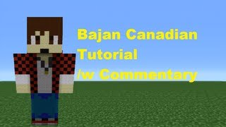 Minecraft 360: How To Make A Bajan Canadian Statue