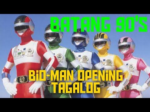 Bioman Opening Tagalog