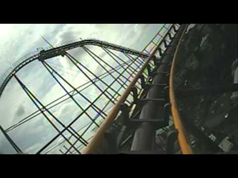 Bandit Togo Roller Coaster Front Seat POV Onride Yomiuriland Japan