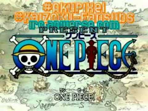 One Piece First Opening Japanese