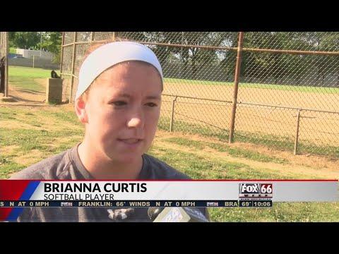 Brianna Curtis - Breast Cancer Softball Game