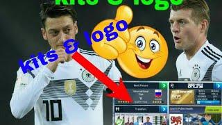 How to create German National Team Kits & Logo | Dream League Soccer 2018
