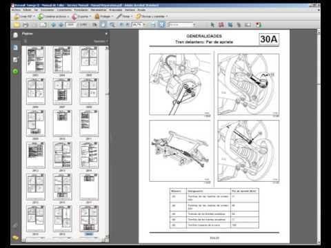 Renault twingo ii manual de taller service manual for Manual de muebleria pdf gratis
