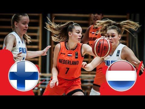 Finland V Netherlands - CL 5-8 - Full Game - FIBA U18 Women's European Championship Division B 2018