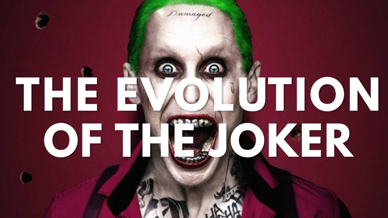 The Evolution of The Joker (50 Years of Crazy) - YouTube Jared Leto