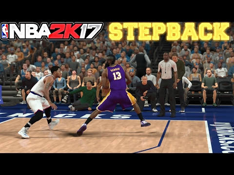 How To Do Stepback In NBA 2K17