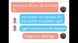 JJ redick texting Doc rivers after signing with the 76ers