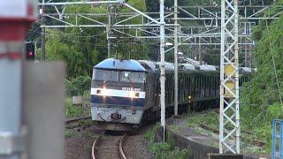 相鉄21000系[21102F] 甲種輸送 早川駅通過