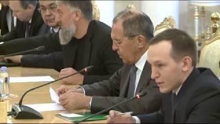 Переговоры С.Лаврова с М.Сиялой, Москва, 12 декабря 2017 года