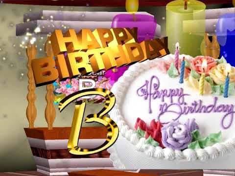 b love statushappy birthday my dear letter bhappy birthday wishes to friend