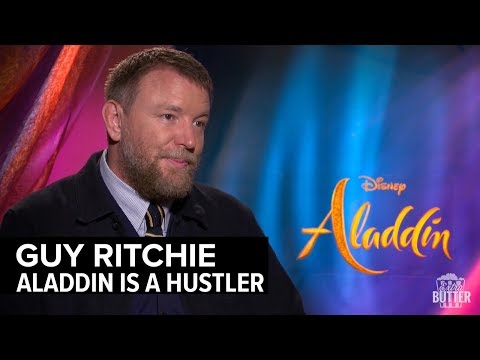 Guy Ritchie: Directing Aladdin   'Aladdin' Interview   Extra Butter