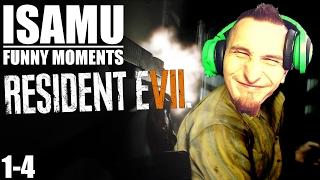 Isamu Funny Moments | Resident Evil 7 (1-4)