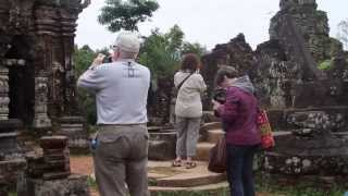 My Son ruins of Champa Kingdom in Vietnam