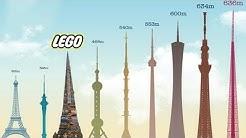 Die höchsten Lego Bauwerke der Welt