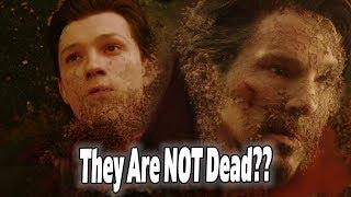 NEW Avengers 4 Endgame Theory! Thanos Snap Didn't Kill Anyone??