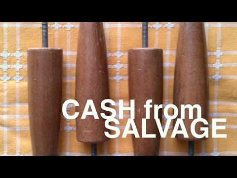 "Making Money (and decorating) With Salvage- ""Money For Nothing'"" Tip #1"