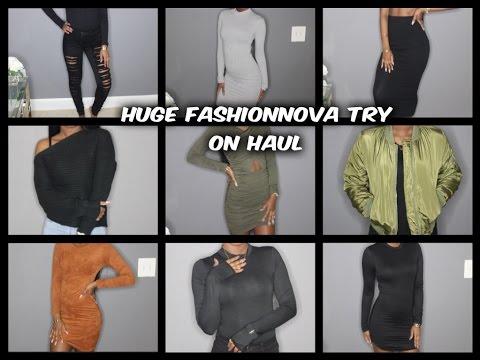 Huge FashionNova Winter Haul