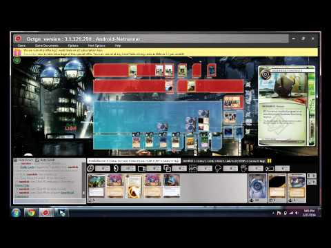Android: Netrunner NBN Tax Man vs Exile OCTGN