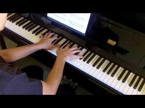Bastien Intermediate Technic 2 No.9b Broken Chords D Major (P.12)
