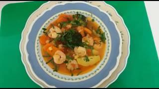 Рыба с овощами....или наваристый рыбный суп.