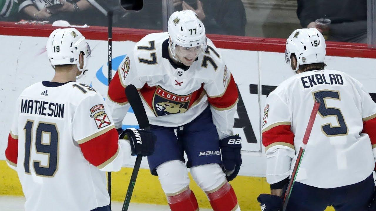 NHL Highlights | Panthers vs Blackhawks – Jan. 21, 2020