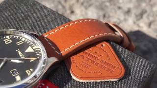 Gear: Timex Waterbury Red Wing watch review